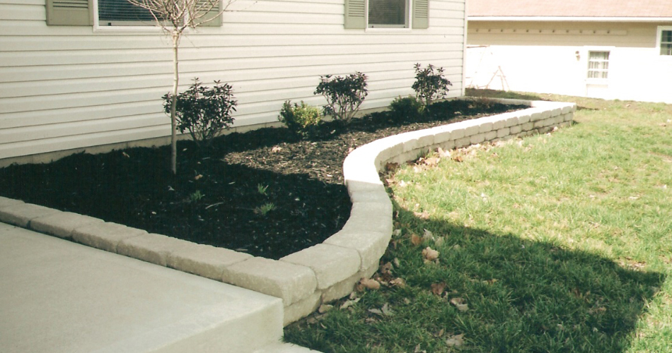 Flower Bed Border, Retaining Wall